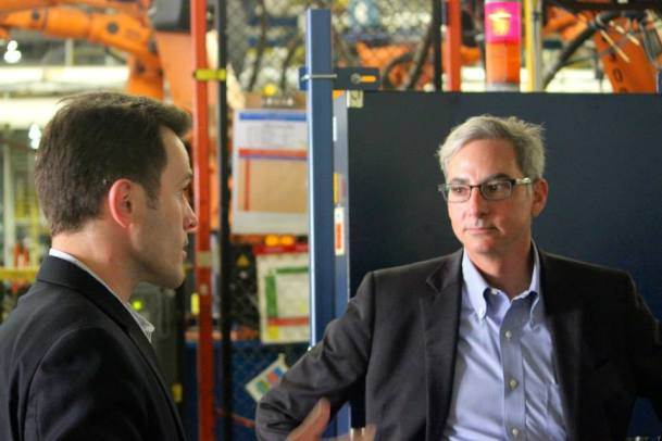 Paul Elio and NBC's Dan Jovic talk about potential job creation in Shreveport.