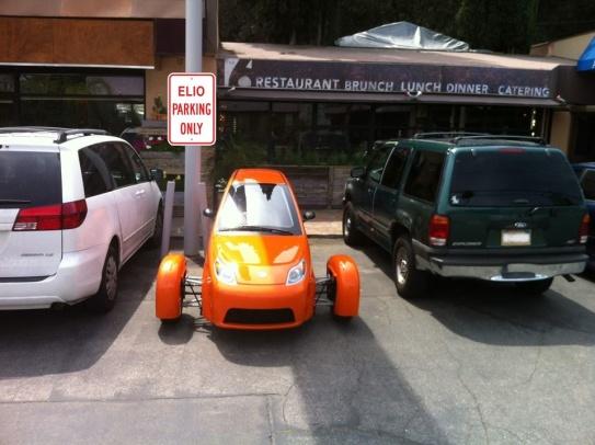 Elio Parking Only