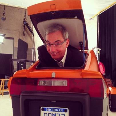 Paul Elio in the trunk!